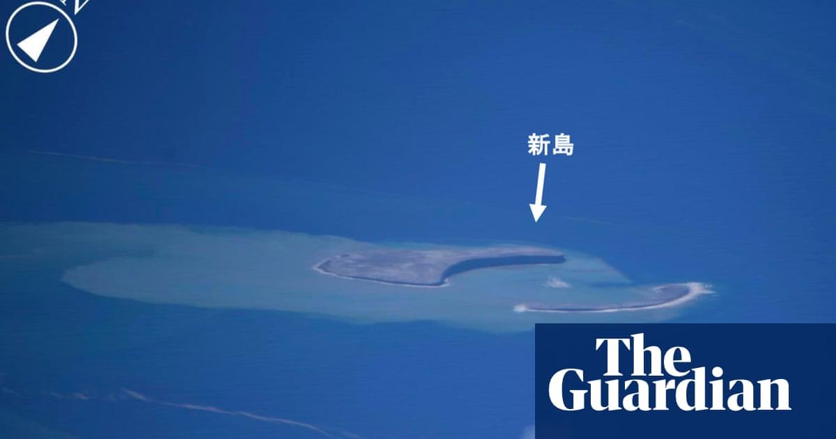 Undersea volcanic eruption creates new Japanese island