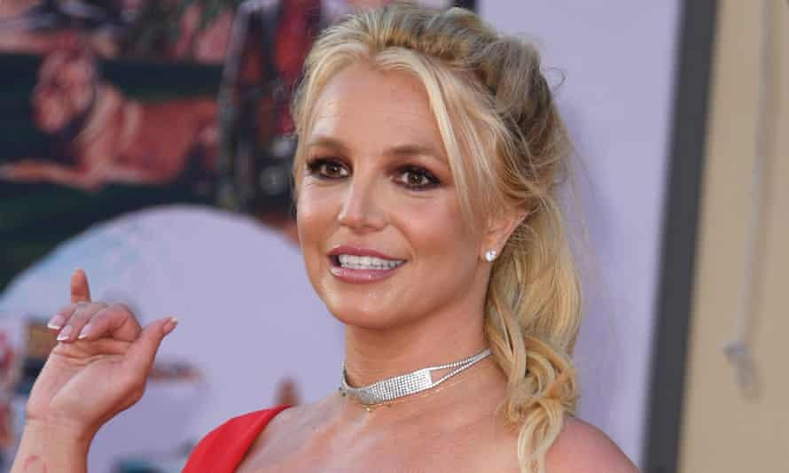 Britney Spears in Hollywood, California in 2019.