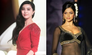 Fan Bingbing and Deepika Padukone