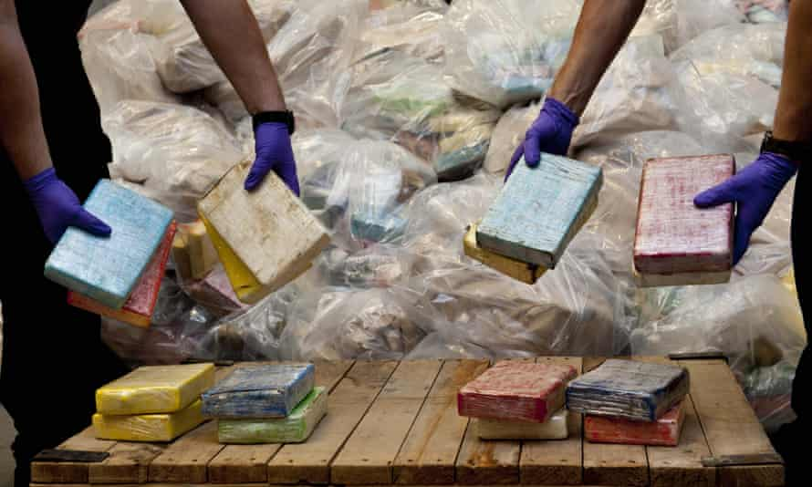 Part of a haul of cocaine seized in Southampton in 2011
