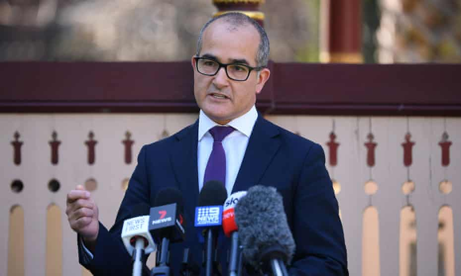 Victorian deputy premier James Merlino