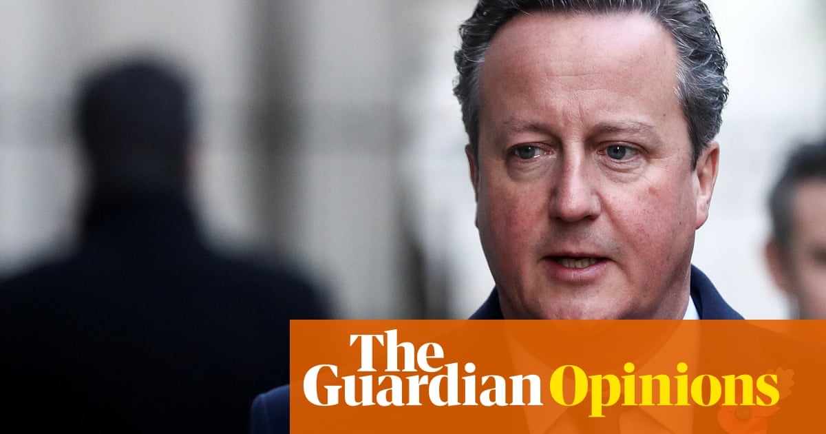 The Guardian view on David Cameron and Greensill Capital: questions to answer