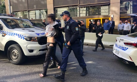 Sydney incident: man arrested over knife attack had history of mental illness– as it happened