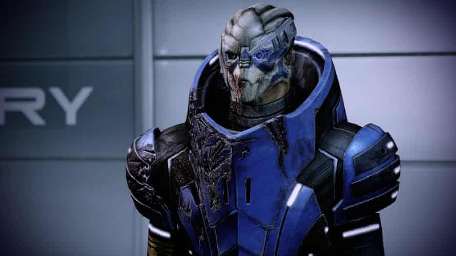 Garrus in Mass Effect Legendary Edition.