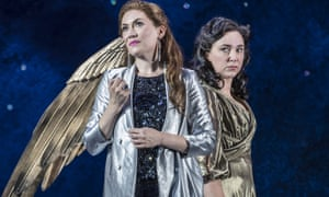 Stober as Semele and Christine Rice as Juno.