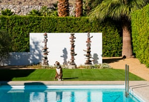 Ozzy: Mixed Breed, Rescue (Alexander Construction Company, 1960)Nancy Baron, lovingly turns her lens on the precious pups of Palm Springs, as they follow her around and wander into her camera frame, adding warmth and life to the image as they do to their homes.