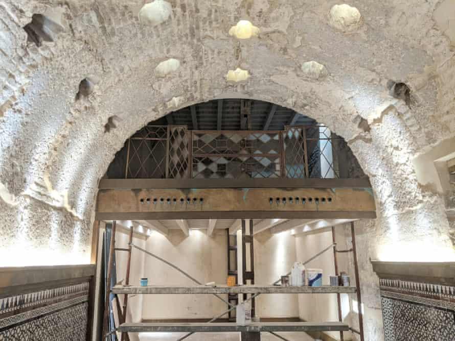 The hammam discovered in Seville's Cervercería Giralda