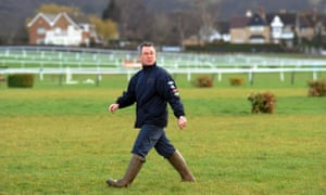 Cheltenham's clerk of the course, Simon Claisse, is said to feel aggrieved
