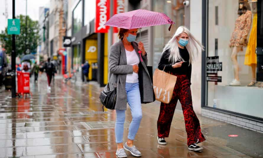 Retail sales volumes in the three months to May were 14% lower than in the three months to February, the last period in which spending was unaffected by the pandemic.