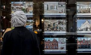 Estate agency window