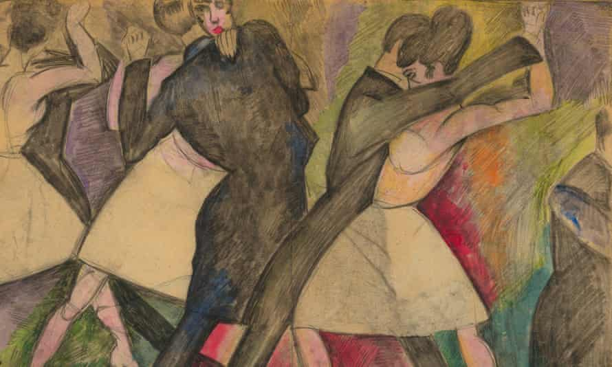 A detail of I Vaintrob Dance (1910s)