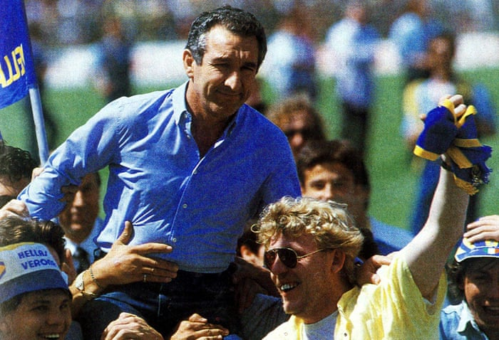 The miracle season when Hellas Verona came from nowhere to win Serie A   Serie A   The Guardian
