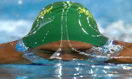 The South African Olympic champion Penny Heyns in 1999