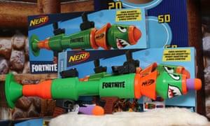 The Nerf Fortnite blaster