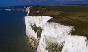 Brooks said: 'What about White Cliffs of Dover … [and] California, where you have the waves crashing against the shorelines, and you have the cliffs crashing into the sea?'