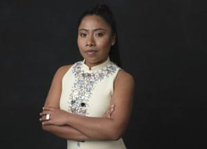 Yalitza Aparicio, poses for a portrait at the 91st Academy Awards Nominees Luncheon in Beverly Hills, California.