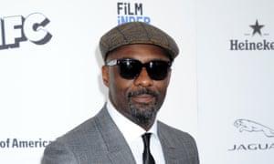 Idris Elba at the Independent Spirit awards: the first black Bond?