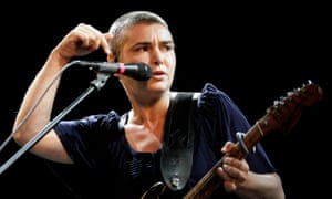 Sinéad O'Connor performs on stage in 2009.