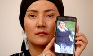 Rashida Abdughupur, a Uighur woman in Adelaide who says she was threatened by the Chinese police