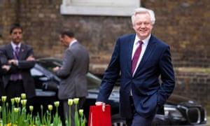 David Davis in Downing Street