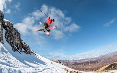 skiing Glencoe in 2019.