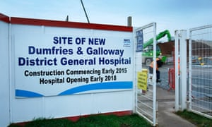New hospital in Dumfries
