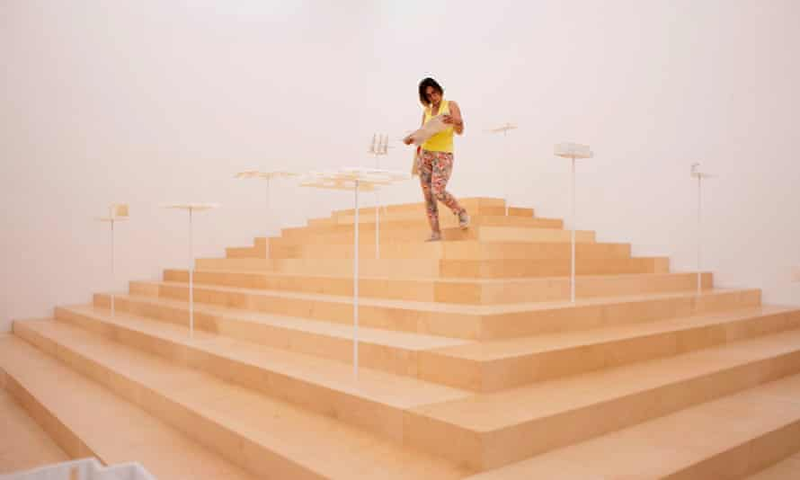 The Greece pavilion at the Venice Biennale 2018.
