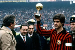 Gianni Rivera of Milan