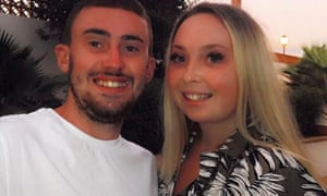 Liam Archer and his partner Ciara Edwards