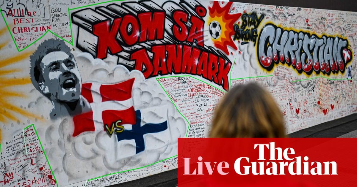 Euro 2020: Denmark plan Christian Eriksen tribute against Belgium – live!