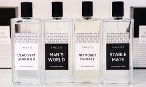 Fertility products called 'Man's World', 'No Money, No Baby' and 'Stable Mate'