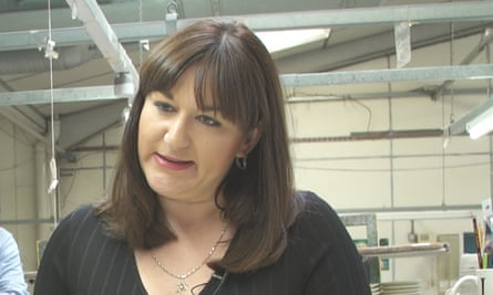 Ruth Smeeth, MP for Stoke-on-Trent north.