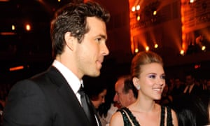 'I'm definitely different about all that stuff now…': with ex-wife Scarlett Johansson.