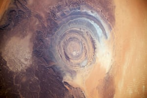 The Richat structure, Mauritania
