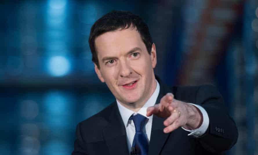 George Osborne has no fear of Labour.