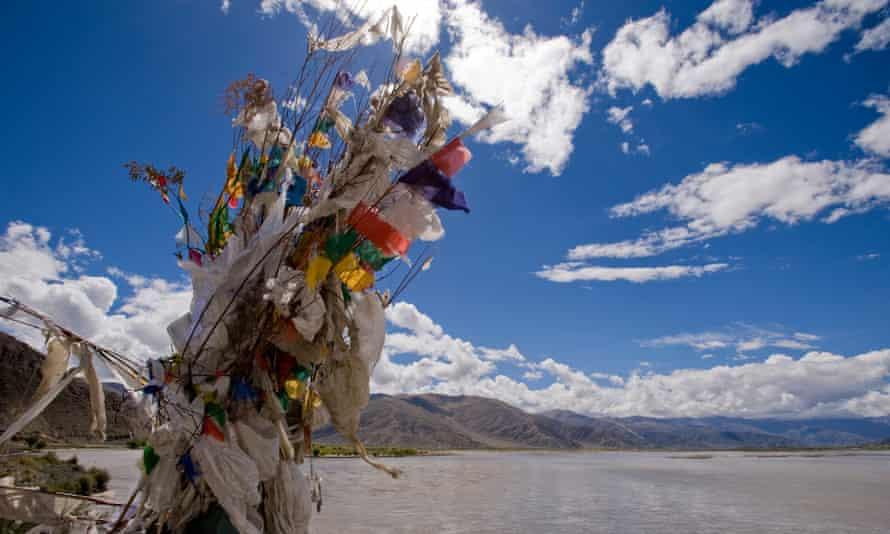 Headwaters of the Brahmaputra in Tibet