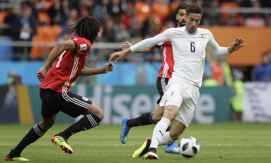 Rodrigo Bentancur's presence in Uruguay's midfield against Egypt was a sign of the change Óscar Tabárez has overseen.