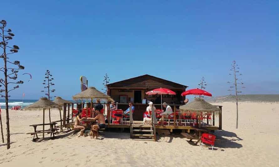 Beach bar  portugal