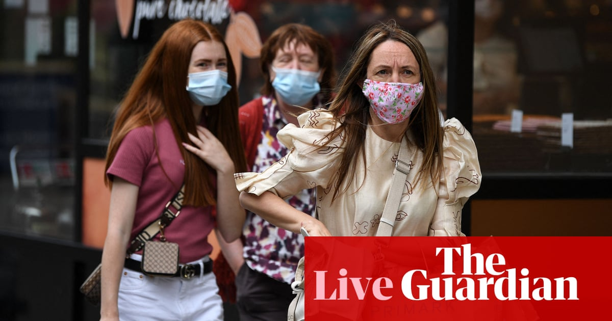 Covid live: public in England expected to wear masks when measures lift; Indonesia reports 1,007 daily deaths