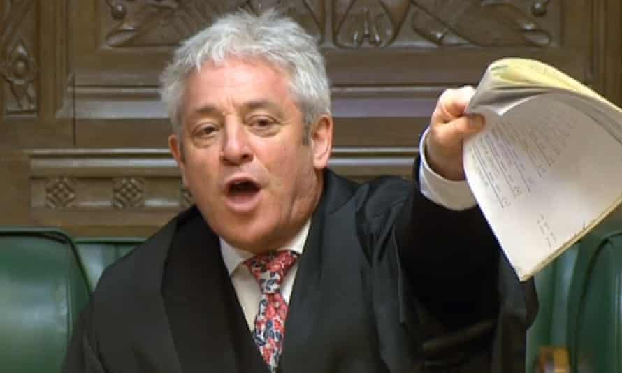 John Bercow has denied bullying allegations against him.