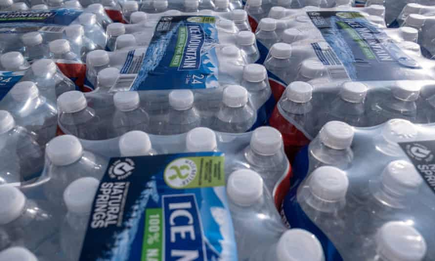 'Although water bottles are recyclable, Americans throw away about 80% of the bottles they use – and, by some estimates, Americans use 1,500 plastic bottles of water every second.'