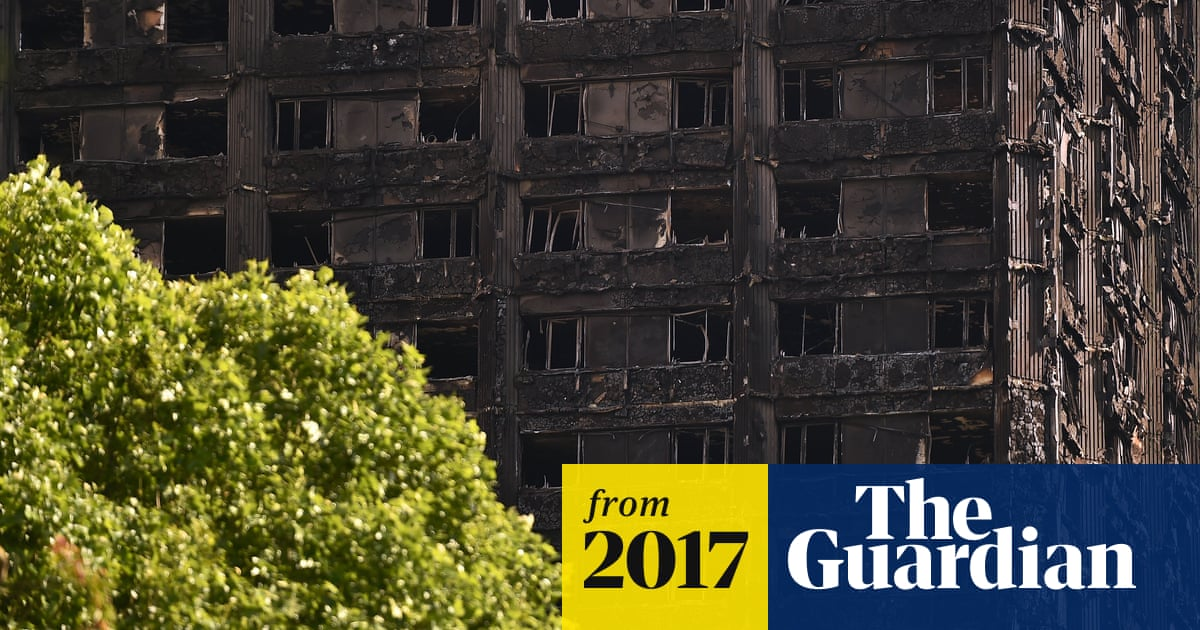 Covering of Grenfell Tower to begin within three weeks | UK