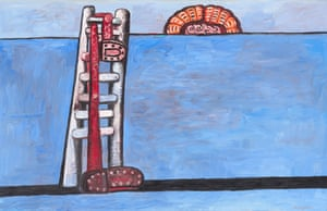 Philip Guston - The Ladder, 1978