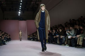 Berluti Ready to Wear collection by French designer Haider Ackermann for Berluti in Paris