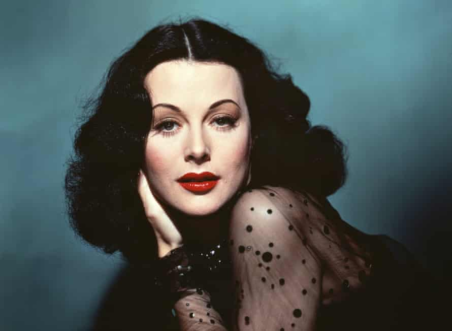 Hedy Lamarr, a 1940s film idol, was joint winner of a scientific award for her work on radio waves.