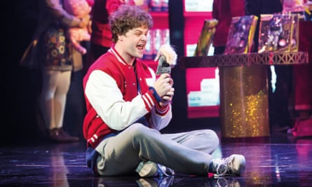 Wide-eyed wonder … McGuiness as Josh in Big: The Musical.