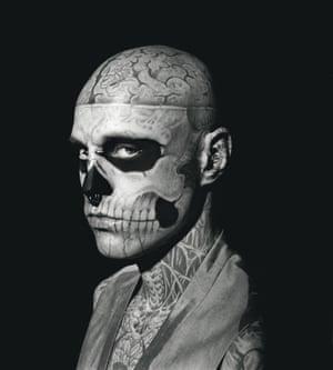 Zombie Boy aka Rick Genest.