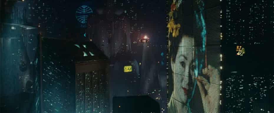 Still from Blade Runner, directed by Ridley Scott.