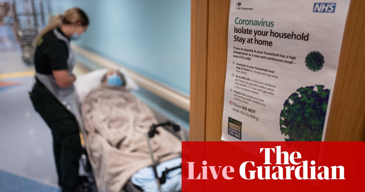 UK Covid live: hospitalisation numbers could reach 'quite scary' levels in weeks, says Chris Whitty
