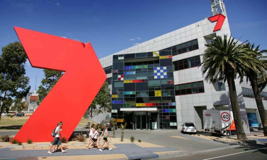 Channel Seven's television studios at Docklands in Melbourne